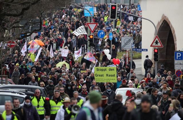 Manifestacja w Kassel (Niemcy)