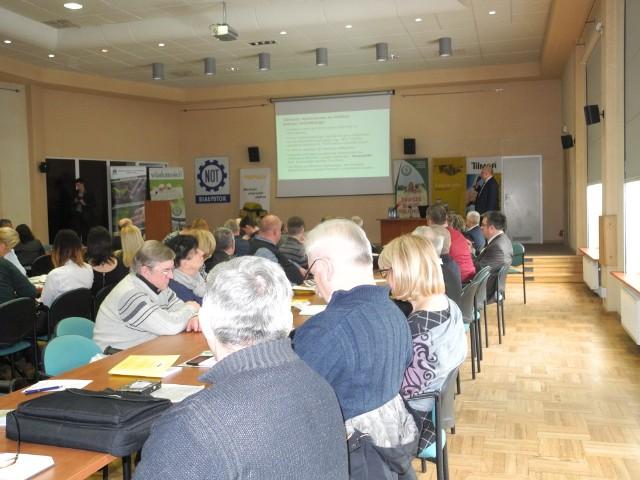 Konferencja cieszyła się dużym zainteresowaniem wśród rolników