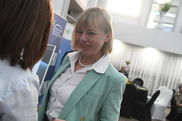 Hanna Nowicka, Prezes Zarządu Agencji Rozwoju Regionalnego S.A., podczas gali plebiscytu Nasze Dobre Lubuskie 2019