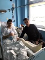 Rok temu brutalnie złamano mu nogę podczas meczu. Od tego czasu wciąż nie odzyskał w niej pełnej sprawności. Sprawa skończy się w sądzie?