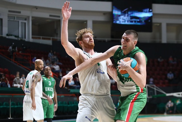 Koszykarze Enei Zastalu BC Zielona Góra przegrali w Kazaniu pierwszy mecz play off w lidze VTB.