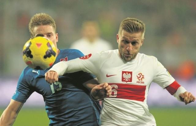 Po 19 miesiącach przerwy, spowodowanej kontuzją, do kadry wrócił Jakub Błaszczykowski (z prawej). Piłkarz Borussii Dortmund nie jest już kapitanem biało-czerwonych.