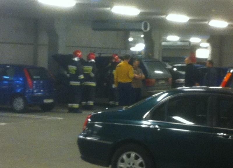 Pożar w nowej Ikei w Bielanach Wrocławskich (ZDJĘCIA)