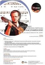 Kraków. Konkurs wiedzy dla uczniów o twórczości Jacka Kaczmarskiego