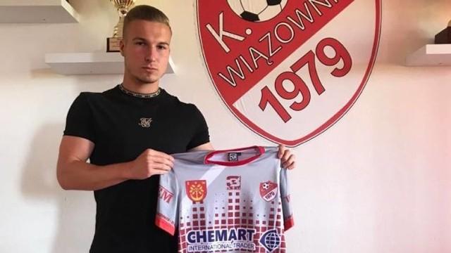 Jakub Janik w rundzie jesiennej grał w III-ligowym KS Wiązownica