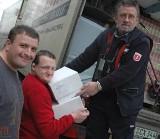 Bernhard Serwuschok przywiózł dary na Opolszczyznę