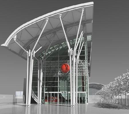 Terminal Zachodni w Targach Kielce ma powstać w 2013 roku.