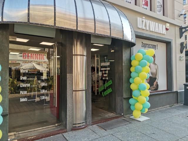 Nowy sklep z używaną odzieżą przy Szerokiej
