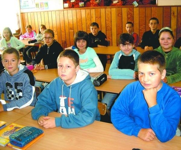 Uczniowie Niepublicznej Szkoły Podstawowej Edukator w Łapach