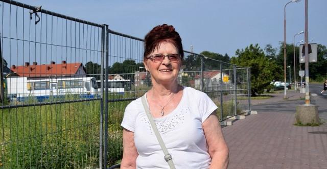 - Mam nadzieję że wraz z budowa galerii zniknie problem dworca autobusowego - cieszy się Walentyna Braszkowska