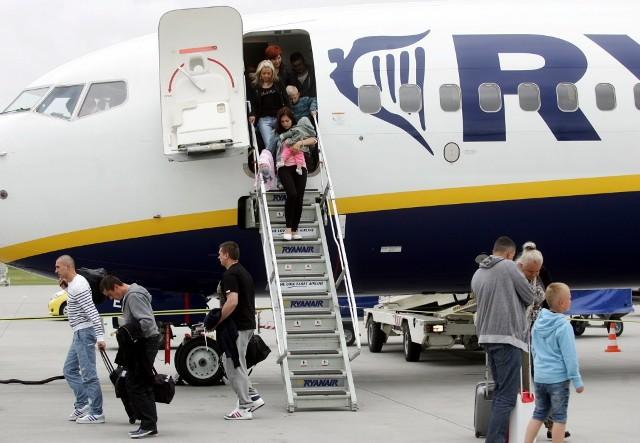Ryanair latał z Lublina do Liverpoolu od kwietnia 2013 roku