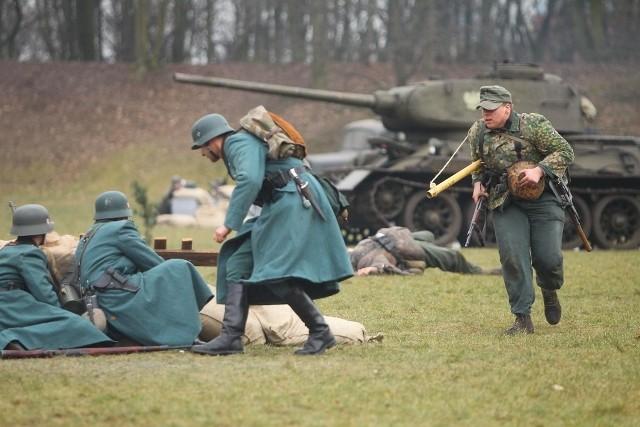 Bitwa o Poznań 2015 - inscenizacja na Cytadeli