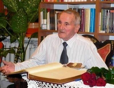 Aleksander Tryjefaczka mieszka w Niepołomicach od 90 lat FOT. JOLANTA BIAŁEK