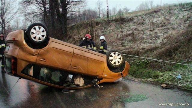 Tuchów. Wypadek na ulicy Ryglickiej