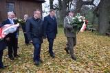 Minister złożył kwiaty na grobie gen. Sulika i pod pomnikiem bł. ks. Popiełuszki