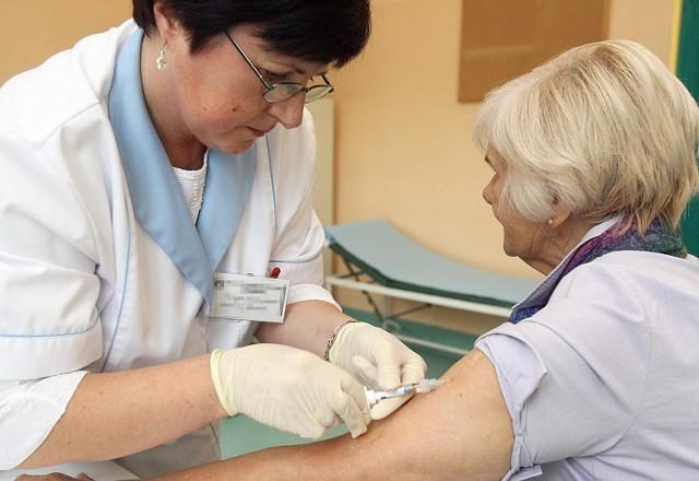 Do lekarzy rodzinnych w regionie trafia coraz więcej pacjentów z podejrzeniem grypy