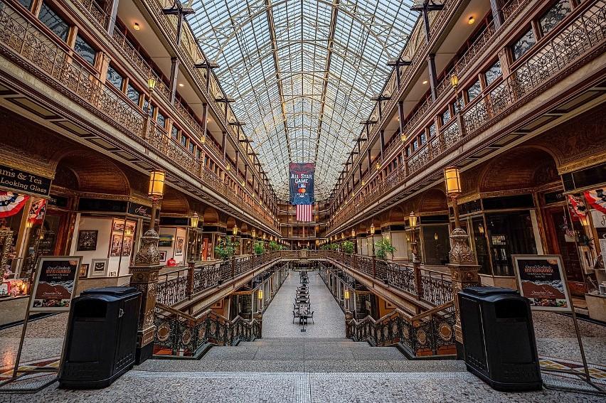The Arcade powstało w 1890 r. jako budowla, którą dziś...