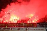 Zagłębie Sosnowiec - GKS Tychy. Zdjęcia oprawy i kibiców ze Stadionu Ludowego