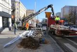 Ruszyła przebudowa sygnalizacji świetlnej na skrzyżowaniu ulic 25 Czerwca i Żeromskiego w Radomiu. Zobacz zdjęcia
