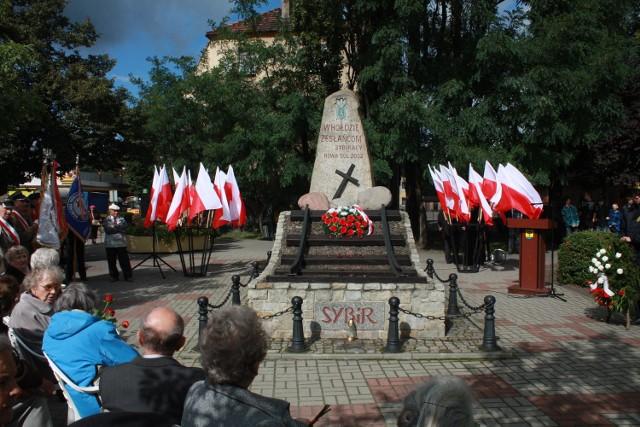 Pod Pomnikiem Sybiraka w Nowej Soli w sobotę odbędą się uroczystości upamiętniające losy zesłanych na Sybir Polaków