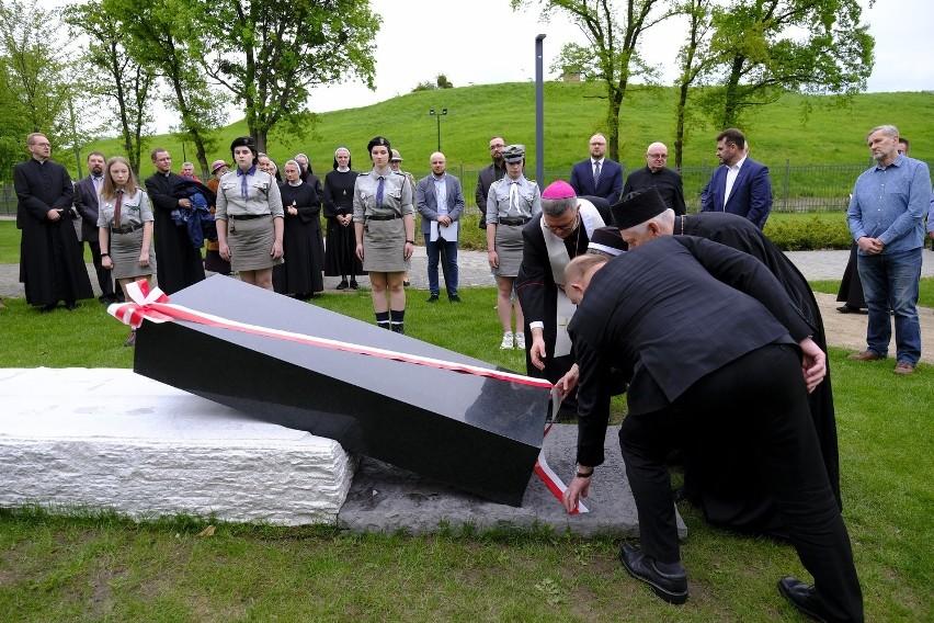 Dziś (17.05) w toruńskim Parku Pamięci Ofiar Zbrodni...