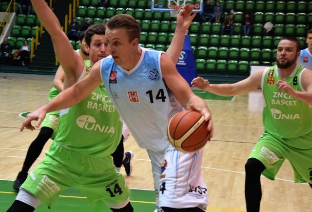 Kolejna przegrana KSK Noteć. Na własnym boisku drużyna z Inowrocławia uległa ekipie Znicza Basket Pruszków 65:91.