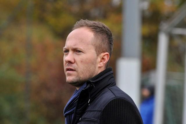 Trener Michał Wiącek