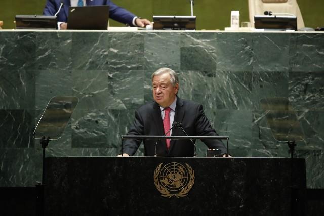 """76. sesja Zgromadzenia Ogólnego ONZ, a kryzys klimatyczny.  """"Jesteśmy na skraju przepaści i idziemy w złym kierunku"""""""