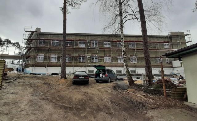 14,5 miliona złotych wynosi dotacja rządowego funduszu na budowę szpitala w Pionkach.