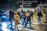 Strajk kobiet w Białymstoku. Kolejna blokada ronda Lussy. Nie było dużych korków. Strajki kobiet coraz mniej liczne (ZDJĘCIA)