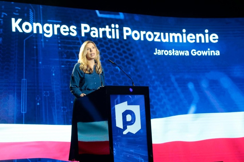Kongres wyborczy Porozumienia. Jarosław Gowin ponownie...
