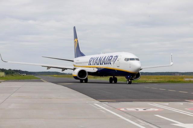 Samolot Ryanair z Bydgoszczy do Londynu