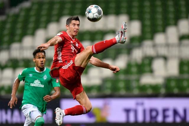 Robert Lewandowski zdobył swoją 31. bramkę w Bundeslidze