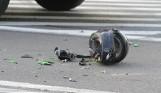 Śmiertelny wypadek motocyklisty z Pabianic. To najstarszy zawodnik sekcji motorowej PTC!