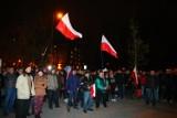 Protest przed Urzędem Wojewódzkim. Chcą powtórzenia wyborów samorządowych [ZDJĘCIA]