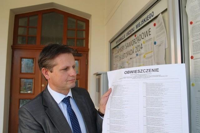 - W naszej gminie Strzelce Opolskie aż w osiemnastu przypadkach pierwsze miejsca na listach zajęli członkowie dużych partii politycznych - mówi Krzysztof Kobylański, pełnomocnik do spraw wyborów.