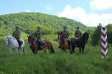 Szkolnie jeźdźców z górskich placówek Straży Granicznej w Ustrzykach Górnych i Czarnej Górnej [WIDEO, ZDJĘCIA]