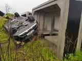 Poważny wypadek pod Bydgoszczą. Zderzyły się trzy auta [zobacz zdjęcia]