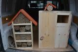 Gmina Sulechów stawia budki dla pustułek, puszczyków, pszczół murarek i trzmieli. Gdzie one staną? Dlaczego to takie ważne?
