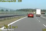 Jechał Ferrari blisko 220 kilometrów na godzinę na S3. Zapadł wyrok w tej sprawie. Mężczyzna dostał wysoką grzywnę