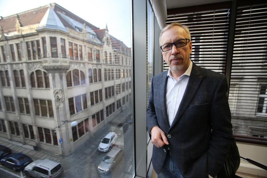 Bogdan Zdrojewski, były prezydent Wrocławia i minister, a...