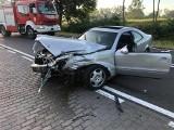 Dobiegniew: Sześć osób rannych zostało rannych w wypadku. Kierowca mercedesa był pijany