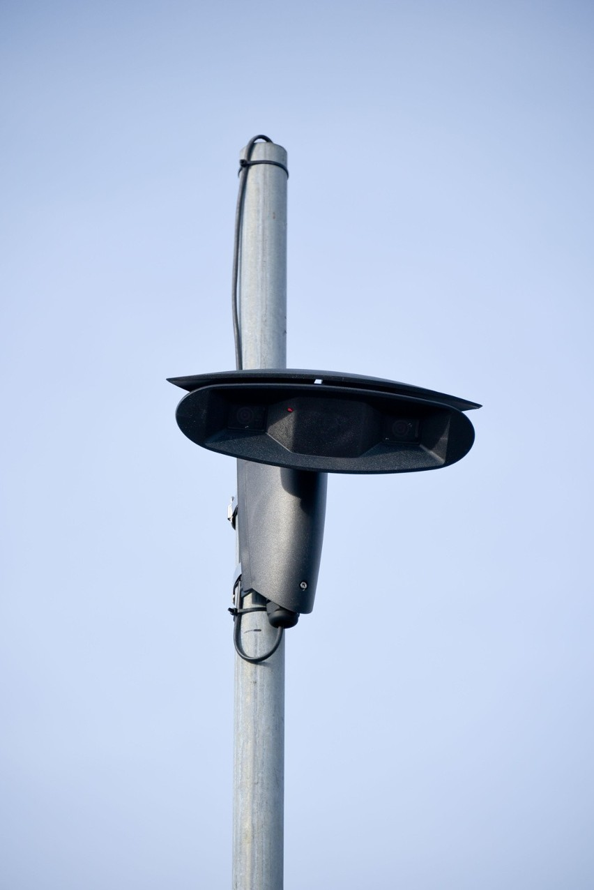 Kamery na skrzyżowaniu Branickiego z Miłosza