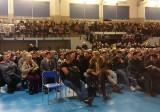 Kolejowa obwodnica Białegostoku. Mieszkańcy gminy Dobrzyniewo Duże są przeciw. To już kolejne spotkanie z kolejarzami