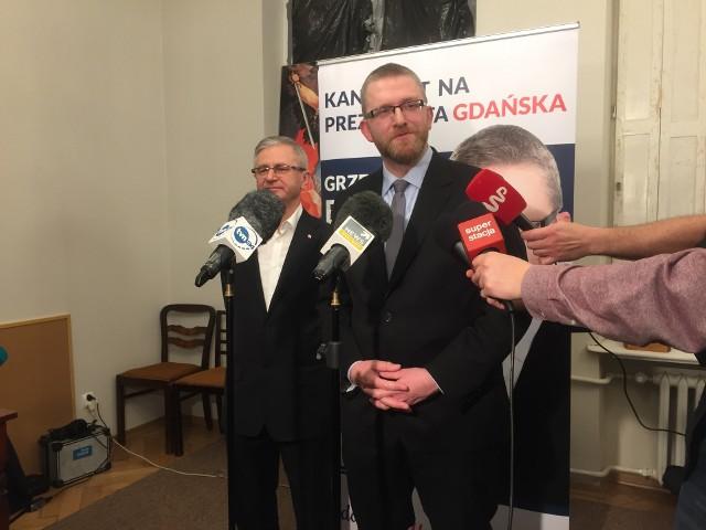 Wieczór wyborczy Grzegorza Brauna.