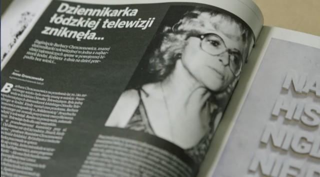 Tajemnicza sprawa zaginięcia Barbary Chrzczonowicz.