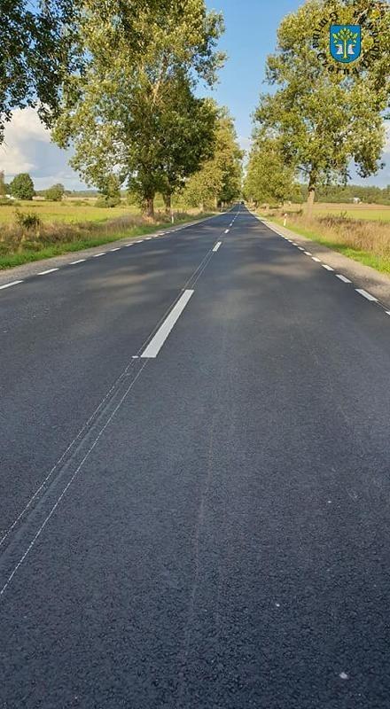 Wyremontowana droga w Kleszczyńcu.