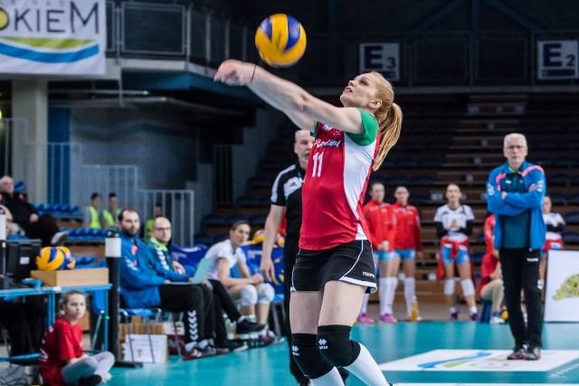 Agata Babicz była w Rzeszowie jednym z nielicznych jasnych punktów w drużynie z Piły