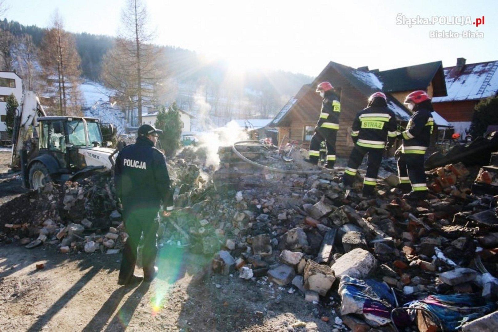 Tragedia w Szczyrku. Prokuratura potwierdza, że jest związek między pracami ziemnymi a wybuchem