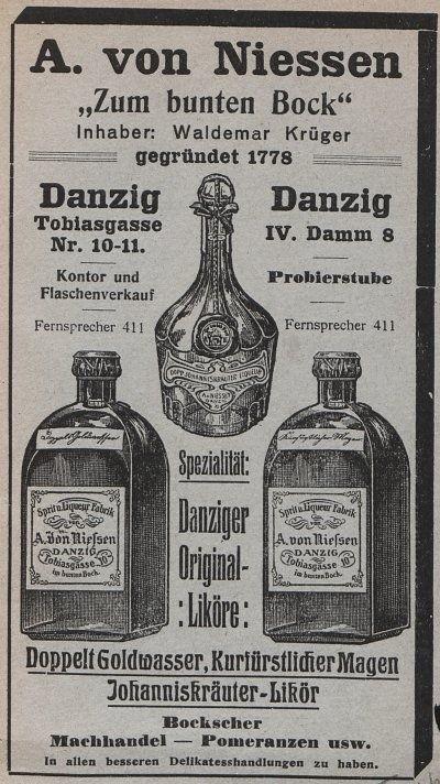 Wódka gdańska - goldwasser...